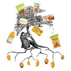 Trader Joe's Mango Mango June 6, 2016  Mango is the big story of the Trader Joe's  Fearless Flyer Guide to Summer.