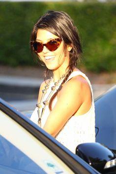 kourtney kardashian bora bora cat eye sunglasses - Google Search