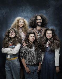 The Drano Hairy Family by The New Cruelty, via Behance