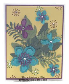 FireFly's Cards by Sierra Stamper: Bermuda Botanicals #StampinUp #BotanicalBuilder #BotanicalBlooms