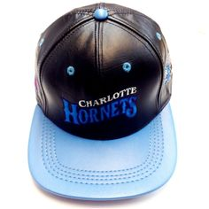Charlotte Hornets , LOGO TEAM NFL BASEBALL LEATHER CAP
