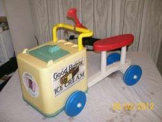 Playskool Good Humor Ice Cream Cart, 1970's