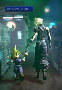 22 years apart, isn't life crazy Final Fantasy Tattoo, Ice Fantasy, Final Fantasy Tactics, Final Fantasy Cloud, Lightning Final Fantasy, Fantasy Tattoos, Final Fantasy Characters, Final Fantasy Artwork, Final Fantasy Vii Remake