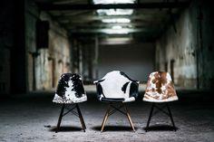 Giveaway: Kuhfell Bezug für Eames Klassiker von Get Suited