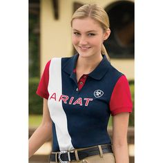 Ariat® Taryn Team Polo, $44.95 at Dover Saddlery