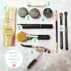 What's In My Makeup Bag | Hey, Love