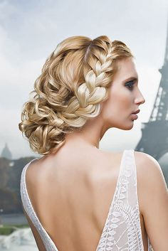 18 Elegant Wedding Hairstyles From All Over The World ❤ See more: http://www.weddingforward.com/elegant-wedding-hairstyles/ #weddings #hairdstyle