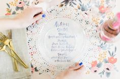 This #bridalshower right here is packed to the brim with inspiration! From the @mychinet Cut Crystal products to the bouquet bar and delicious sweets this is one party you'll never want to end! So grab the #bridesmaids and start planning! | Photography: @rutheileenphoto | DIYs: @smpliving #sponsored #EntertainingTogether #MyChinet by stylemepretty
