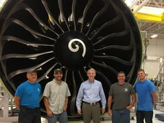 Sen. Rob Portman promotes jobs, jet engines on visit to GE Aviation Engine Testing Facility - WCPO