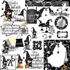Black Hat Society Digital Download - J.Rett Graphics