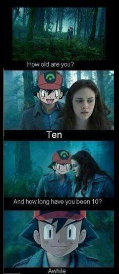 How long have you been ten?