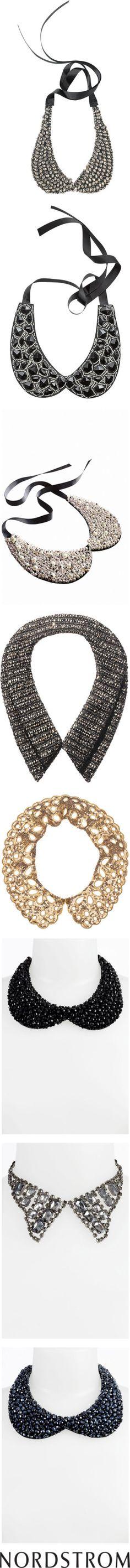 """""""NORDSTROM: Embellished Collars"""" by nordstrom on Polyvore"""
