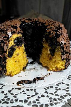 Σοκολατένιο κέικ καρότου, γεμισμένο με τρουφάκια ⋆ Cook Eat Up!