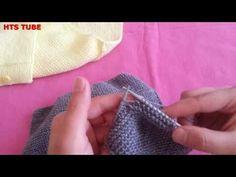 KOLAY YELEK ÖRNEĞİ-1 Popular Ads, Baby Vest, Cardigan, Alphabet And Numbers, Baby Knitting Patterns, Baby Love, Fingerless Gloves, Arm Warmers, Crochet Baby