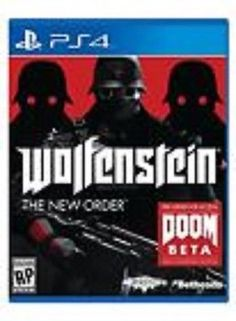 Wolfenstein: The New Order GAME (Sony Playstation 4) PS PS4 **FREE SHIPPING!! - BUY NOW ONLY 18.79