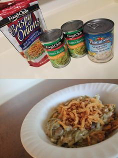 Easy Green Bean Casserole (only 3 ingredients!)