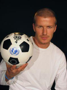 "UNICEF ambassador, David Beckham said; ""Simple games like football build self-esteem and offers a road back to community life."""