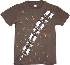 Star Wars Chewbacca Costume T-Shirt Yoda T Shirt, Star Wars Tee Shirts, War Band, T Shirt Costumes, Graphic Shirts, Soft Fabrics, Stars, Guy, Sterne