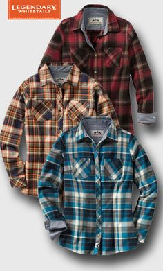 Let loose in our timeless flannel, featuring a classic design with chambray lined collar and cuffs.  Made of 5.5 oz. pure cotton flannel, this yarn-dyed shirt is lightweight and very comfortable.  Wear it alone or layer up during those brisk fall days.