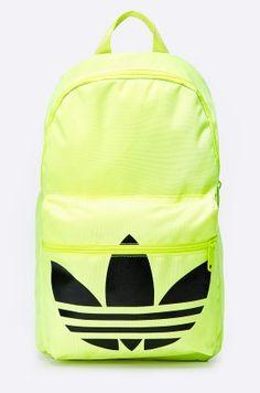 Plecak - adidas Originals - limonkowy
