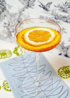 The Robert Frost ...3/4 oz Bourbon,  3/4 oz Dry Sherry (such as Amontillado),  3/4 oz White Port,  1/4 oz Simple Syrup,  1 dash Orange Bitters