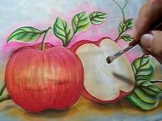 Como Pintar Maçãs - YouTube
