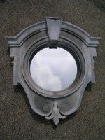 Antique Zinc chateau windows with mirror inserts. Love this design Dormer Roof, Dormer Windows, Arched Windows, House Windows, Trumeau Mirror, Window Mirror, Mirror Mirror, Roof Window, Window Boxes