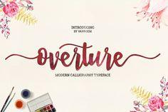 FREE font: Overture Lite from FontBundles.net