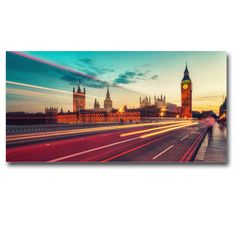 Big Ben Canvas Art Print Panel, Wall Painting Art, Framed canvas art home decor office decor : Ready to Hang! by LifeColorsCity on Etsy https://www.etsy.com/listing/201468250/big-ben-canvas-art-print-panel-wall