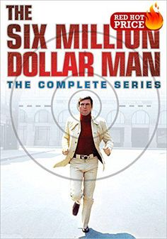 """#bestdeal Golden #Globe nominee Lee Majors is """"better, stronger, faster"""" in this incredible 100-episode, collection of the #iconic series. Also included are all t..."""