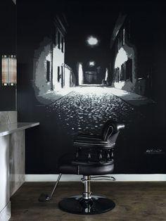 WBX Windsor Hydraulic Styling Chair