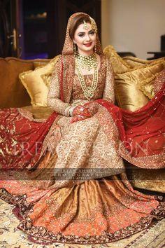 Bridal Lehenga Designs For Brides 2018