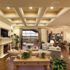 +deep +trayed +ceiling Design Ideas, Pictures, Remodel, and Decor - page 2