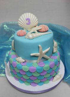 Under the Sea Cake by Violeta Glace