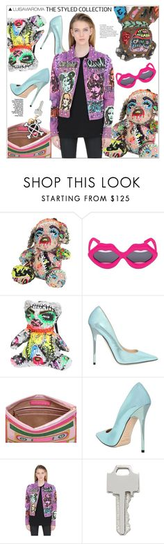 """The Styled Collection"" by luisaviaroma ❤ liked on Polyvore featuring Patricia Field Art/Fashion, Yazbukey, Jimmy Choo, Lauren Klassen, Moschino, luisaviaroma, womensFashion, Patriciafield and lvr"