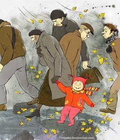 Pinzellades al món: Somriu, estem en la tardor / Sonrie, estamos en otoño / Smile, we're in autumn