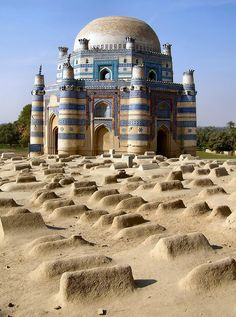 Tomb of Bibi Jawindi  |  Uch Sharif Urdu, Pakistan