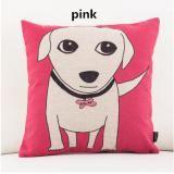 Cartoon animal linen decorative pillow for living room cheap waist cushions
