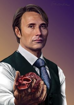 Be My Valentine Hannibal painted by Gassada