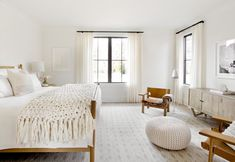 soothing, neutral bedroom