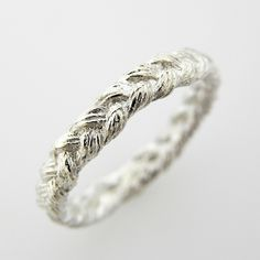 Braided Infinity Wedding Band. Representing you, your husband, and Jesus all infinitely intertwined