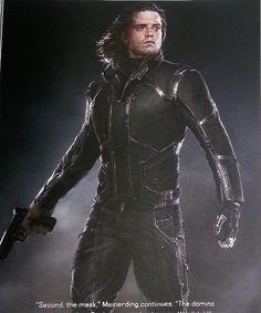 Bucky Barnes - Sebastian Stan - Winter Soldier