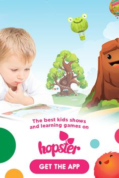 Hopster is the best learning and entertainment app just for kids. Start your free trial!