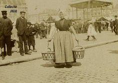 Visvrouw op de Markt.
