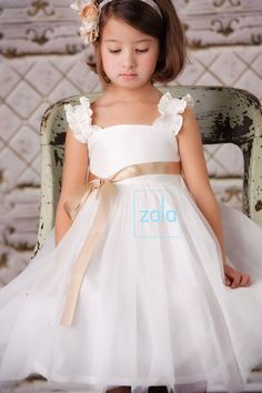 flower girl dress by zolaclothingco on Etsy, $69.00