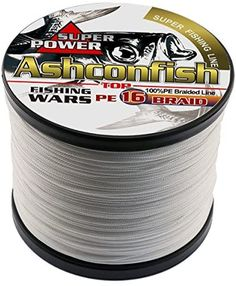 Ashconfish Braided Fishing Line-16 Strands Hollow Core Fishing Wire 300M/328Yards- Abrasion Resistant Incredible Superline Zero Stretch Ultrathin Diameter Woven Thread Fishing Line, Fishing Reels, Fishing Tackle, Free Tips, The Incredibles, Fishing Equipment, Fishing Rigs
