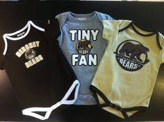 Hershey Bears - Infant Onesies 3-pack  available at the Hershey Sports main store located at Giant Center
