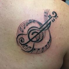 45 new ideas tattoo ideas music notes awesome Music Tattoo Designs, Music Tattoos, Arrow Tattoos, Feather Tattoos, Leg Tattoos, Trendy Tattoos, Tattoos For Guys, Cool Tattoos, Justice Tattoo