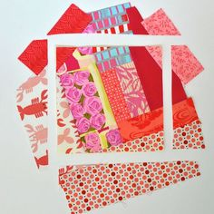 The Girl Who Quilts: Scrappy Blocks Tutorial-Several other useful tutorials and tips-Love the magnetic pin bowl!