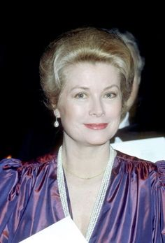 Princess Grace Kelly--no botox, no silicone. Just elegance and style
